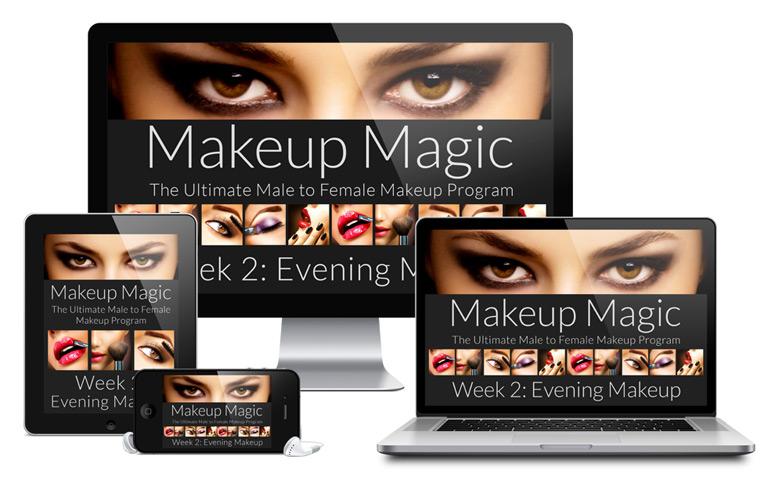 Makeup Magic Program - Week 2 Evening Makeup